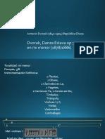 A. Dvorak, Danza Eslava op 72 nro 2, análisis formal