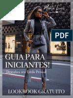 Lookbook Gratuito - GUIA PARA INICIANTES - ESTILO PESSOAL