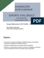Presentación RCP soporte vital básico