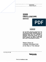Tektronix 2205_Oscilloscope sm