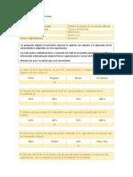 Evaluación de La Capacitación Hortalizas El Ocal