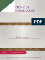 Gestion Des Connaissances Version 3