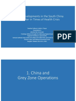 Thayer Strategic Developments in the South China Sea Theatre in Times of Health Crisis