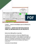 Agenda Proyectos