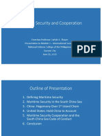 Thayer Maritime Security and Cooperation