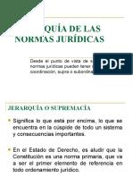 JERARQUÍA DE LAS NORMAS   JURIDICAS (2)