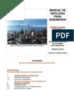 Manual de Geología Para Ingenieros - Intro