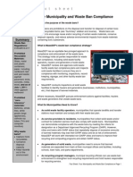 MA DEP Solid Waste Factsheet