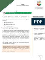 Guía de trabajo 2- 8°