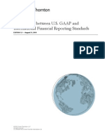 Grant Thorton Comparison US GAAP to IFRS 2010
