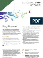 Samsung Galaxy S (GT-I9000) User Manual [Froyo Ver.][Rev.1.4]