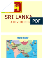 sri lanka intro and causes of conflict