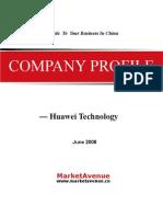 CompanyProfile_Huawei_2008(Final)