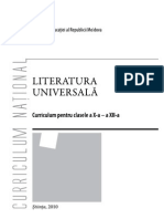 Literatura universala (scoala nationala)