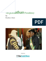 The Jonathan Presidency, By Abati, The Guardian, Dec. 17, 2010 to Jan. 23, 2011 _2