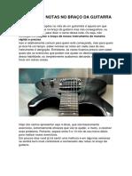 Mapear as Notas No Braço Da Guitarra