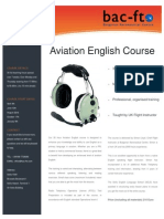 Aviation English Course