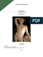 Antinous Hadrianus - Andrea Perticari