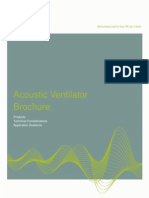 acoustic ventilation brochure