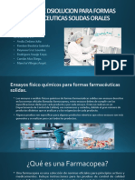 Disolucion - Biofarmacia