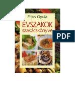 Fitos Gyula - Évszakok szakácskönyve