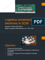 Logistica comertului electronic in SCM