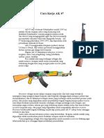 Cara Kerja AK 47