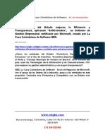 Sistema Contable Para Gobernaciones y Alcaldias