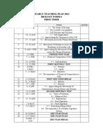 YEARLY TEACHING PLAN 2011