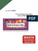 Acoso escolar -Rosali Camarena Quiñones - administración de empresas .