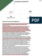 SER Plagiarism Report