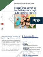 Le esperienze sociali edemotive dei bambini e degli adolescenti nella rete_bozza