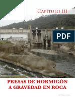 CAP III PRESAS DE HORMIGON A GRAVEDAAD EN ROCA