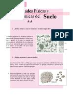 Defina textura y como se denominan los suelos según ello