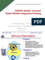 WCDMA HSDPA 11022007