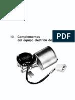 Curso de electricidad del automovil - Equipo electrico auxiliar