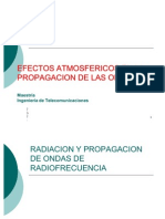 Radiacion y Propagacion de Ondas de Radiofrecuencia