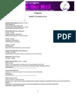 Programa con moderadores 20 III 2011