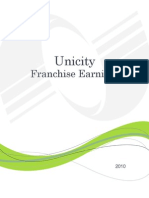 Unicity Franchise Earnings Booklet