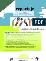 EL REPORTAJE  (definición)