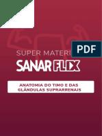 SANAR - (Super Resumo) Antomia Do Timo e Suprarrenal