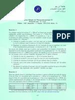 FPO-SMP-TD-Thermodynamique-II-2018-2019-Serie-01