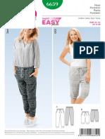 Pantalon Burda 6659