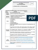 Programación I - Guía 1 - Introducción a La Programación