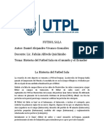 FUTBOL SALA (La historia del Futbol Sala)