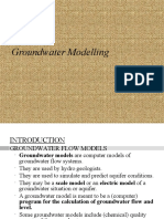 Groundwater Modelling..