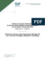 Relazione tecnica App. IO