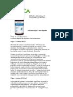 Cloridrato de BETAÍNA HCL 650mg 90 Comprimidos por BIOVEA