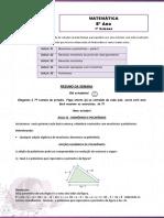 Matematica 8ano Trilha 7semana