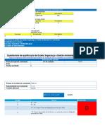 Formulário de Qualificação de fornecedores para validação